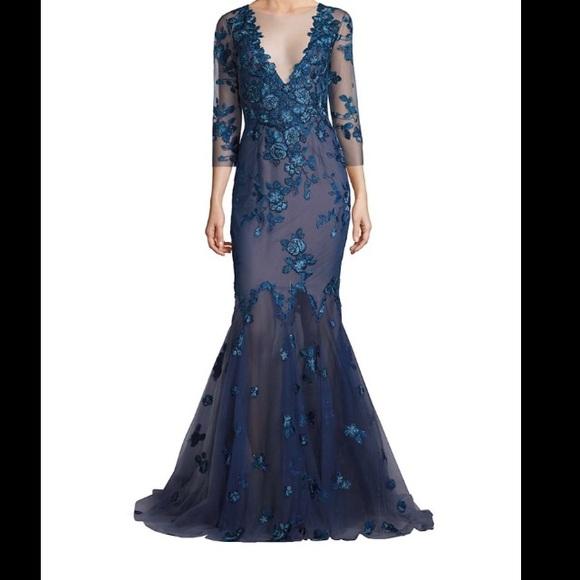 Marchesa Dresses | Notte Gown | Poshmark
